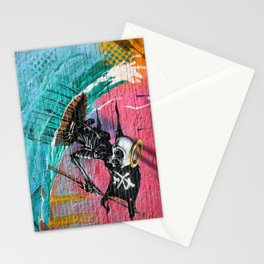 Sailing Skeleton  Stationery Cards