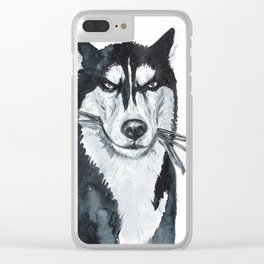 Severe Clear iPhone Case