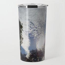 Scattered clouds Travel Mug