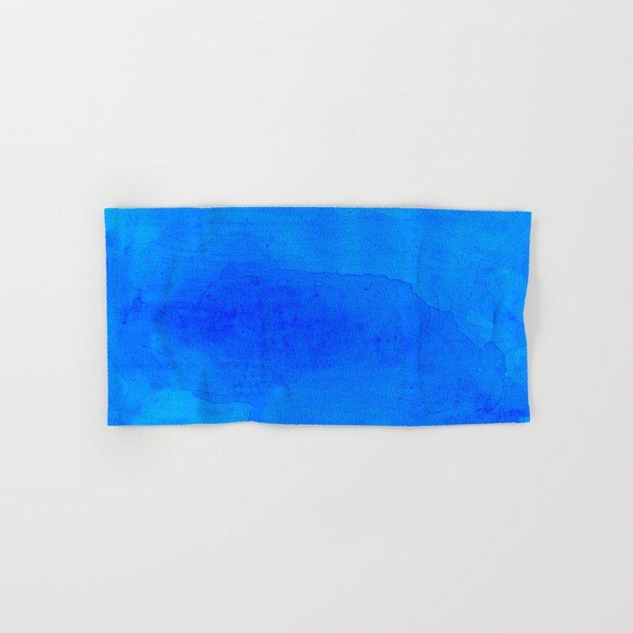 DARK BLUE WATERCOLOR BACKGROUND  Hand & Bath Towel