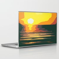 sunrise Laptop & iPad Skins featuring Sunrise by Nuam