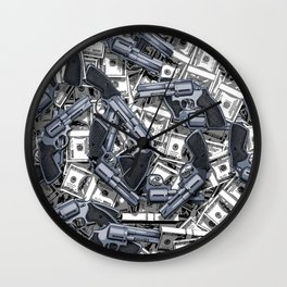 Daylight Robbery Wall Clock