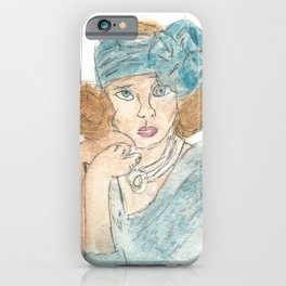 Society Queen iPhone Case