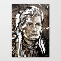 legolas Canvas Prints featuring Legolas by Patrick Scullin