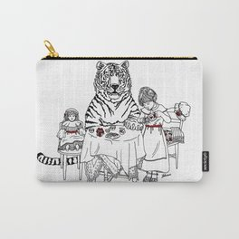 Have a Tiger to Tea Carry-All Pouch