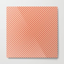 Sweet Striped Metal Print