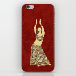 Belly dancer 3 iPhone Skin