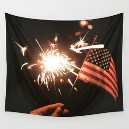 Happy America Wall Tapestry
