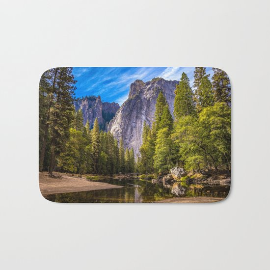 Mighty Mountains Bath Mat