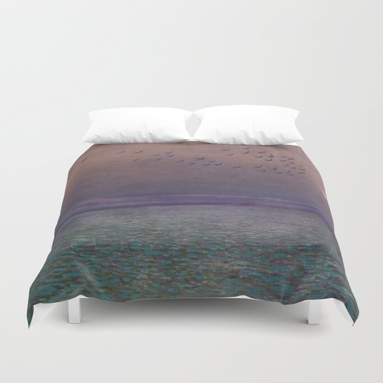 'under every deep a lower deep opens' Duvet Cover