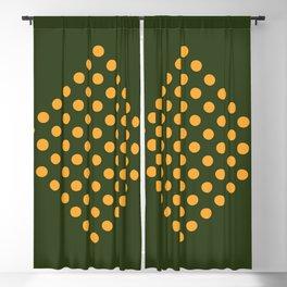 Yellow Basil Blackout Curtain