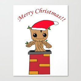 Christmas Baby Tree Canvas Print