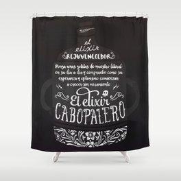 El Elixir Cabopalero Shower Curtain