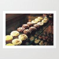 Cupcake corner bakery Art Print