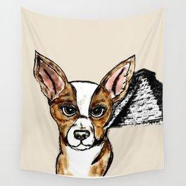Chihuahua Dog Wall Tapestry