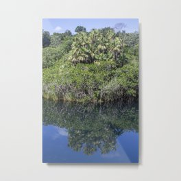 Relaxing Lagoon Metal Print
