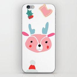 cute deer iPhone Skin