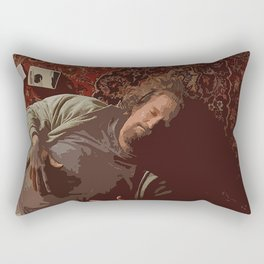 Chill Lebowski Rectangular Pillow
