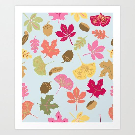 c'est l'automne Art Print