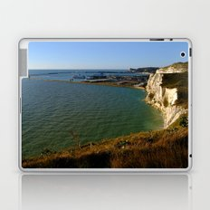 Dover Docks and the Famous White Cliffs Laptop & iPad Skin