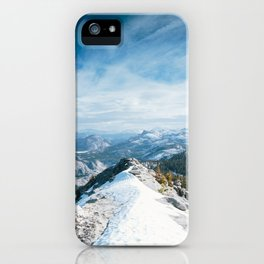 Clouds Rest iPhone Case