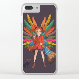 Mary and the Witch's Flower 2 Clear iPhone Case
