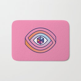 The eye of multiple perspectives Bath Mat