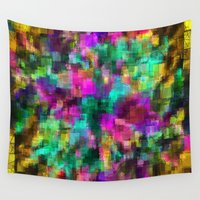 prism Wall Tapestries featuring Rainbow Prism  by North 10 Creations