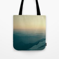 Overlooking Nisqually Tote Bag