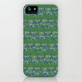 Let's Go to the Market at Night! – Xmas Edition iPhone Case