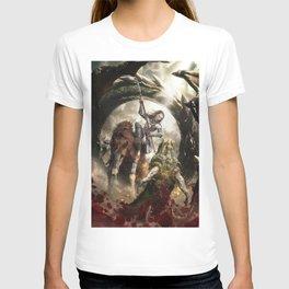 Saint Georgine and the Dragon T-shirt