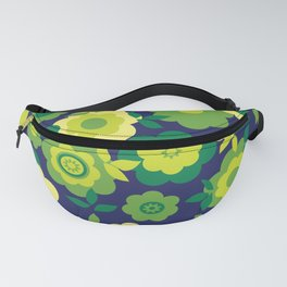 Eilin's Spring Flowers 7 Fanny Pack