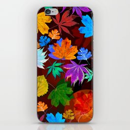 Leaves-001 iPhone Skin