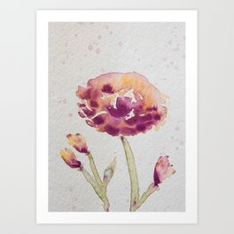 Spring Blossom II - Watercolor Flower Art Print