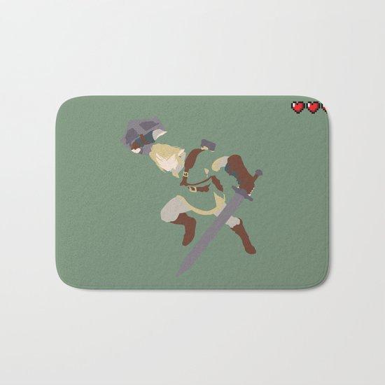 The Legend of Zelda - Link Bath Mat