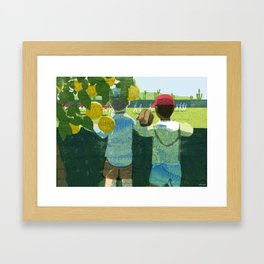 Spring Training Framed Art Print