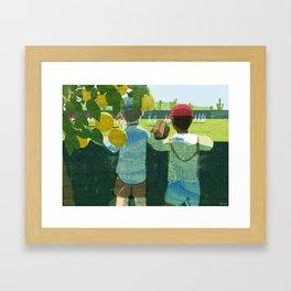 Spring Training Framed Art Print