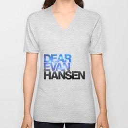 Dear Evan Hansen | Galaxy Unisex V-Neck
