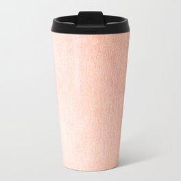 Simply Sweet Peach Coral Shimmer Travel Mug