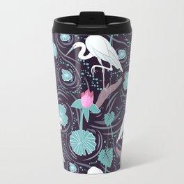 Dance of the Egret Travel Mug