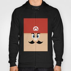 Mario With Cool Mustache Hoody
