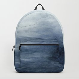 Indigo Abstract Painting | No.2 Backpack