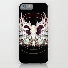 Deer And Crow Skulls Double Image iPhone 6s Slim Case