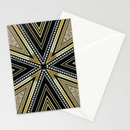 Glam Cross Star Stationery Cards
