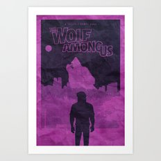 The Wolf Among Us - Poster Art Print