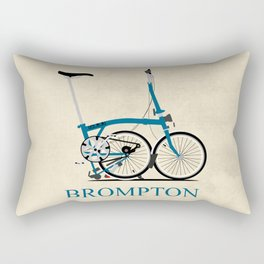 Brompton Bike Rectangular Pillow