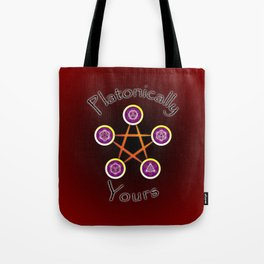 Platonically Yours Tote Bag