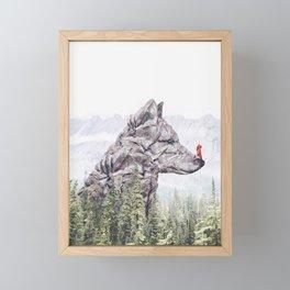 Little Red Riding Hood Framed Mini Art Print