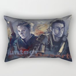 Edge of tomorrow Rectangular Pillow