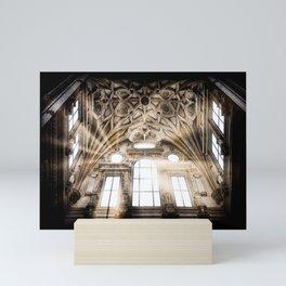 Abstract ceiling Mini Art Print